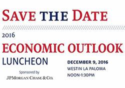 Economic Outlook Luncheon 2016 at Westin La Paloma in Tucson, Arizona, Registration coming soon!