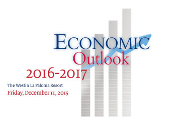 Economic Outllook Luncheon 2016-2017 at the Westin La Paloma in Tucson, Arizona, December 11, 2015